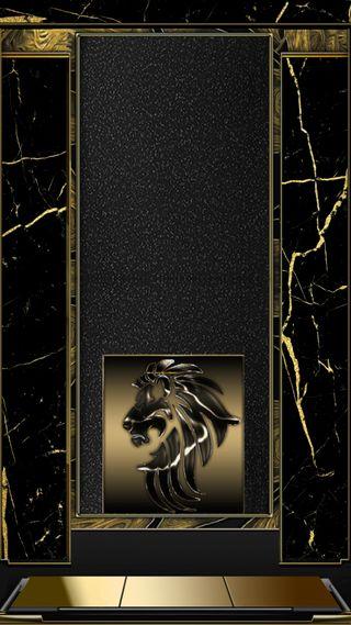 Обои на телефон мрамор, черные, темные, стандартные, лев, золотые, gold standard, 4kwallpaper