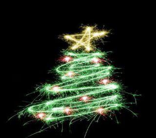 Обои на телефон рождество, праздник, повод, дерево, festivel