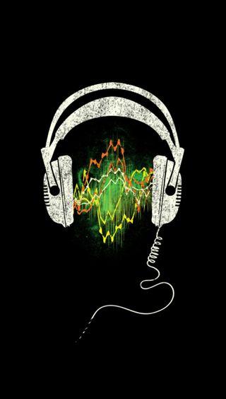 Обои на телефон наушники, диджей, soundwave headphones, soundwave, dj