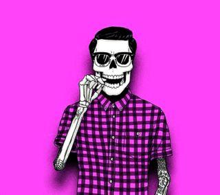 Обои на телефон сумасшедшие, череп, хипстер, темные, последние, новый, мальчик, hipster boy, hallowin