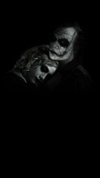 Обои на телефон харли, темные, любовь, куинн, джокер, love, joker and harley q