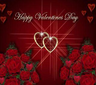 Обои на телефон счастливые, день, валентинка, happy valentine