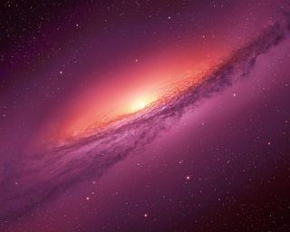 Обои на телефон планеты, фиолетовые, путь, небо, млечный, космос, звезды, галактика, galaxy