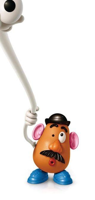Обои на телефон мистер, голова, мото, mr potato head, moto g8 power, moto g8, furo na tela, andrade