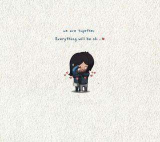 Обои на телефон рисунки, любовь, love
