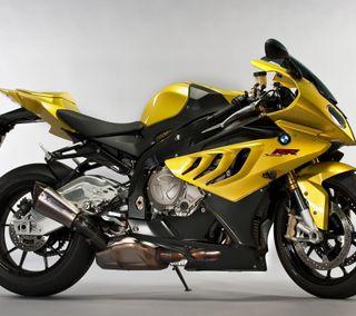 Обои на телефон транспорт, мотоциклы, yelllow motorbike