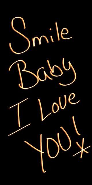 Обои на телефон малыш, ты, смайлики, письмо, любовь, i love you