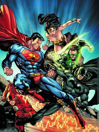 Обои на телефон бумага, флэш, супермен, справедливость, лига, комиксы, бэтмен, justice league paper, dc