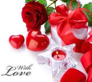 Обои на телефон валентинка, сердце, романтика, розы, любовь, love