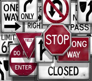 Обои на телефон трафик, знаки, приятные, последние, поговорка, новый, traffic signs, signal, hd, 2013