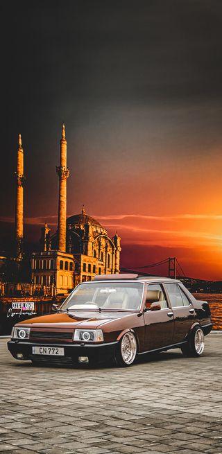 Обои на телефон фотошоп, турецкие, стиль, ретро, машины, tofas, retro style, ortakoy, media, instgram, classical, bbs