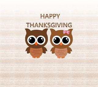 Обои на телефон благодарение, турецкие, счастливые, сова, коричневые