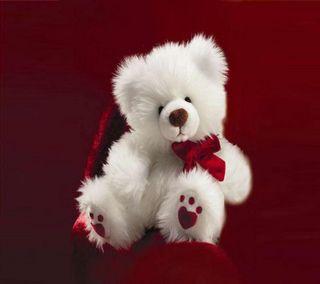 Обои на телефон love, любовь, медведь, кукла