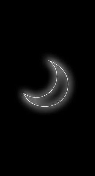 Обои на телефон ночь, луна
