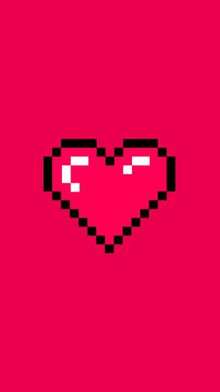 Обои на телефон сердце, ретро, любовь, игры, валентинка, блестящие, pixels, pixelated, pixel, love, amore