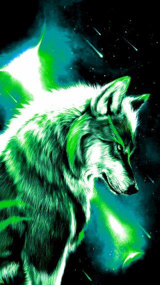 Обои на телефон яркие, луна, зеленые, волк, wolf green bright, wolf green, green wolf bright, green wolf, bright wolf green, bright green wolf