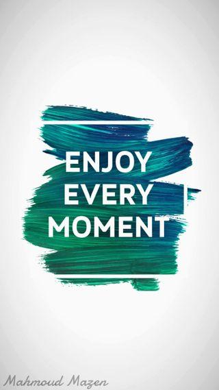Обои на телефон наслаждаться, момент, айфон 6, mgm, enjoy every moment