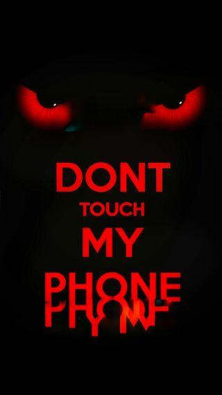 Обои на телефон я, экран, трогать, телефон, сердце, никогда, не, мой, блокировка, never touch my phone, keep, follow, do