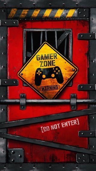 Обои на телефон рисунки, геймер, красые, игра, знаки, дверь, высказывания, zone, red door, no entry, gamer zone