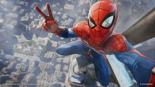 Обои на телефон человек паук, станция, пс4, паук, мстители, марвел, игра, дэдпул, война, веном, бесконечность, ps4, play station, marvel
