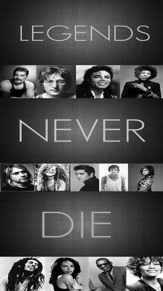 Обои на телефон умри, легенды, никогда, майкл, джон, боб, john lenon