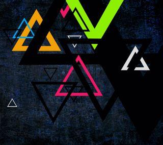 Обои на телефон angles, art, prism, абстрактные, темные, арт, формы, треугольники