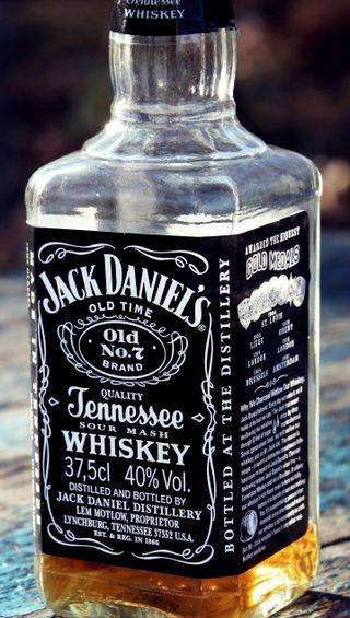 Обои на телефон дэниел, виски, джек, бутылка, алкоголь, jack daniel