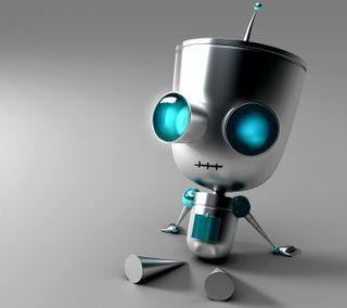 Обои на телефон робот, милые, rharh, rgrghh, cute robot