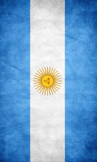 Обои на телефон аргентина, флаг