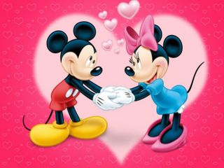 Обои на телефон микки, сердце, маус, любовь, дисней, день, love, disney, 640x480px