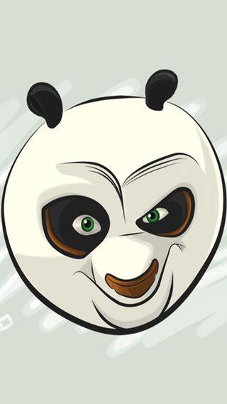Обои на телефон панда, poo