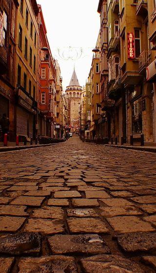 Обои на телефон турецкие, старые, здания, вид, город, city view