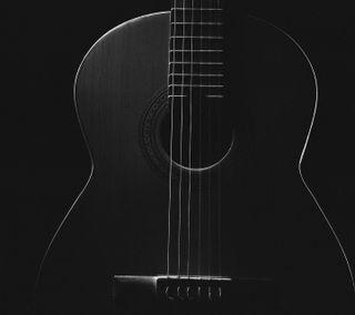 Обои на телефон гитара, музыка, любовь, love