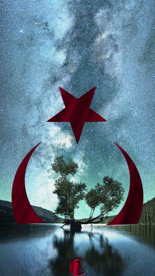 Обои на телефон тюркский, турецкие, небо, красые, turkcuduvar, turkcu duvar