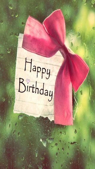 Обои на телефон подарок, ты, счастливые, приветствия, капли, дождь, день рождения, 3д, 3d happy birthday