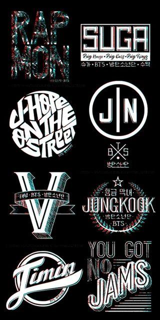 Обои на телефон 3d, bangtan, bts, j-hope, kpop, rap monster, 3д, бтс, кпоп, рэп, чонгук, надежда, чимин, джин, сбой