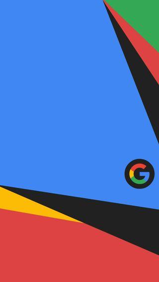 Обои на телефон черные, синие, красые, зеленые, желтые, гугл, now, google