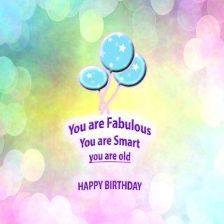 Обои на телефон смех, юмор, ты, счастливые, пастельные, забавные, день рождения, you are fabulous, happy, fabulous