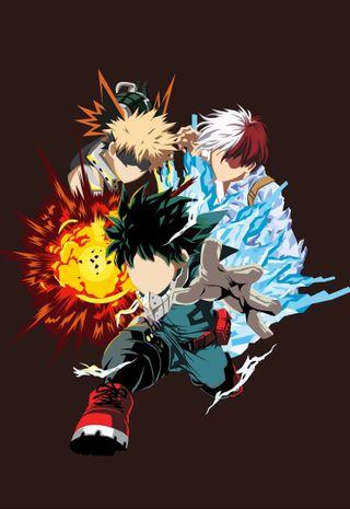 Обои на телефон boku no, hero academia, katsuki, mha, shoto, герой, деку, бнха, академия, боку, мидория, бакуго, изуку