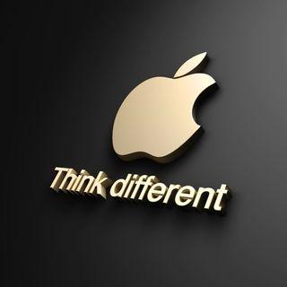 Обои на телефон думать, эпл, новый, логотипы, другой, дизайн, айфон, think different, mac, iphone 4, hd, apple