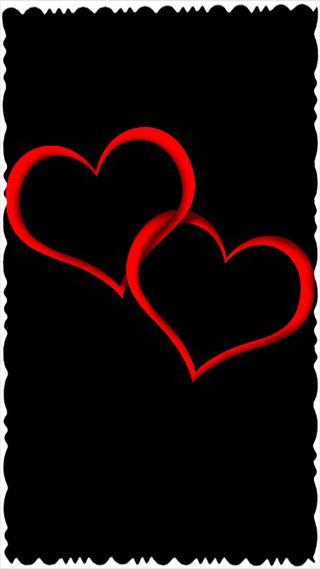 Обои на телефон коричневые, стена, сердце, логотипы