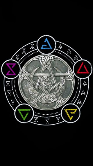 Обои на телефон ведьма, witchcraft, wiccan