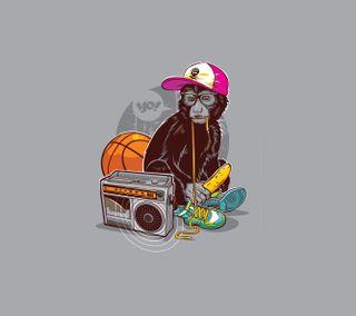 Обои на телефон макс, обезьяны, monkey wimp