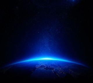 Обои на телефон планета, мир, космос, земля, звезды, глобус