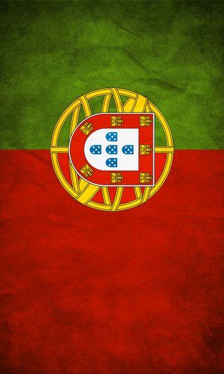 Обои на телефон португалия, флаг