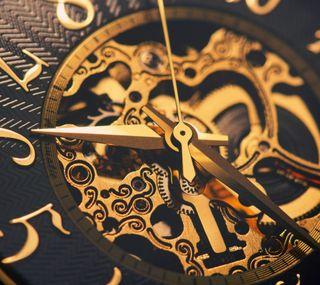 Обои на телефон механизм, часы, золотые, mechanism, machinery, gold watch