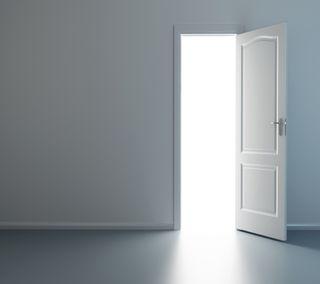 Обои на телефон открыто, дверь, open door, 2160x1920