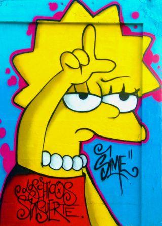 Обои на телефон лиза, симпсоны, любовь, забавные, желтые, абстрактные, love, loser, lisa simpson, giallo, cartoonc, cartoni animati, artoni