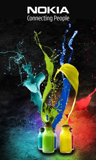 Обои на телефон нокиа, телефон, новый, майкрософт, логотипы, красочные, windows, peopl, connecting, colorful nokia, 2013