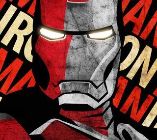 Обои на телефон постер, железный, iron man poster
